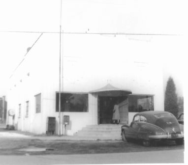 The original Post Office in Avondale. (Photograph is taken from the Byrnes Downs Garden Club Scrapbook which is now located in the Special Collections at the College of Charleston)