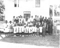 The entire Graham AME Sunday School class of 1946. (Courtesy of the archives of the late James Grant)