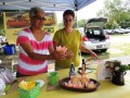 Brazilianuts  Chefs Teca and Fatima present a special brunch to benefit Hands of Christ charity. Photos by Kathleen Curry