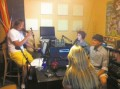 The Hurricane Zoo team live in the Kinetic Hi-Fi studio behind 827 in West Ashley.