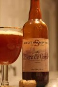 Not a bad decision if only choosing one beer for the entire meal, Bière de Garde is complex enough to withstand most of your Turkey day dishes, yet not so strong or boozy as to annihilate any particular culinary flavor.