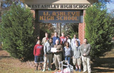 West Ashley High School VEX Robotics team