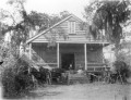 "(Photograph courtesy of the Margaretta Childs Archives at Historic Charleston Foundation) Photo: According to the Historic Charleston Foundation this photograph (ca 1898-1912) was taken by Franklin Frost Sams and has been ""identified as St. Andrews Parish Cycling and Club House; originally entitled Club House at St.Andrews"" Two women are relaxing on the porch. Notice the bicycles by the front porch. Thanks to Karen Emmons of the Historic Charleston Foundation for reaching out to me after reading the previous West Ashley Flashback on cycling in St. Andrew's in the late nineteenth century."