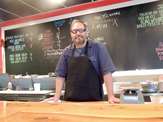 Anthony DiBernardo is the co-owner and pitmaster at Swig & Swine.