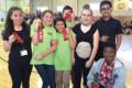 OM Problem Team 5: Taliyah Jenkins, Ashley Garcia Maliyah Houston, Emma Burbage, Anyia Watkins, Irene Lu, Benia Taylor. Coaches: Erika Carasik and Tonya Williams.