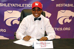 WAHS rushing record holder Dexter Freeman is heading to Newberry College