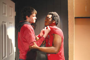 Cameron White and DeShawn Mason let their emotions get the best of them in Snowblind.