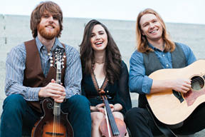 North Carolina's The Barefoot Movement will play the Charleston   Bluegrass Festival Friday evening.