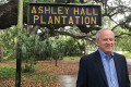 Ashley Harbor resident Larry Freudenberg is opposed to the City of Charleston annexing the Ashley Hall Plantation property where The Settlement is being proposed.