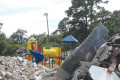 After more than 60 years of serving the children of West Ashley , Stono Park Elementary was demolished last week. Construction will begin soon on the new Stono Park, which is set to open it's doors to students in August 2019.