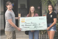 In June, West Ashley High School student Michelle Hammock received  the Dean Britt Scholarship from Paisano's Pizza Grill in West Ashley.