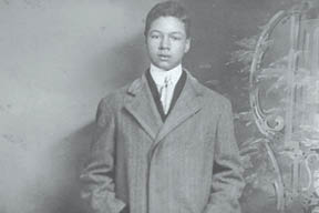 A young Joseph Irvine Hoffman, Jr.  (Photograph courtesy of Norma Hoffman Davis.)