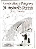The artwork of Major Henry F. Church, whose initials are in the lower right corner, graced the cover of the souvenir booklet of the Exchange Club of St. Andrew's Parish in 1943. (Permission courtesy of the office of the National Exchange Club)