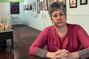 Susan Irish of Fabulon is searching for a new home for her West Ashley art studio after the her current location on Wappoo Road was recently sold.